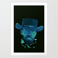 django Art Prints featuring Django by Dr.Söd