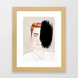 Hiding #3 Framed Art Print