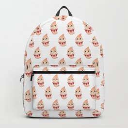 Halloween Funny Ghosts On White Backpack