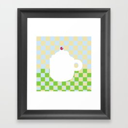 Capuccino Framed Art Print