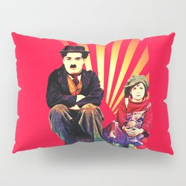 The Tramp and the Kid Pillow Sham