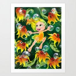 Maria Through The Year - AUGUST Art Print