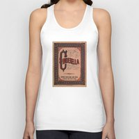 book cover Tank Tops featuring Cinderella Book Cover by proudcow
