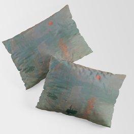 Impression, Sunrise, Claude Monet Pillow Sham