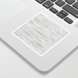 Gray Wool Sticker