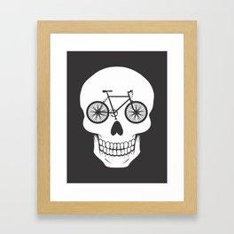 Bikehead Framed Art Print