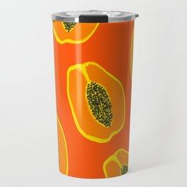 Sarah - papaya Travel Mug