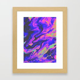 DOING IT TO DEATH Framed Art Print