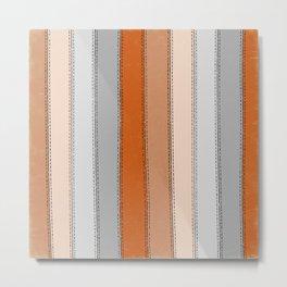orange lines Metal Print