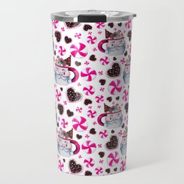Santa Candy Cup Travel Mug
