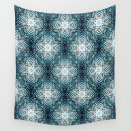 Eight Pointed Star Pattern Wall Tapestry
