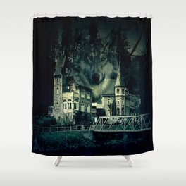Castle of Wolves Shower Curtain
