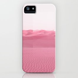 Pink Dunes iPhone Case
