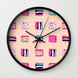Kawaii Candies Wall Clock