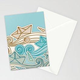 Beach fish sea Stationery Cards
