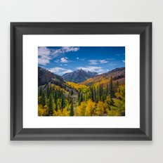 Autumn Views Framed Art Print