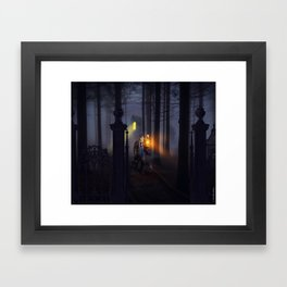 Haunted Forest by Topher Adam 2017 Framed Art Print