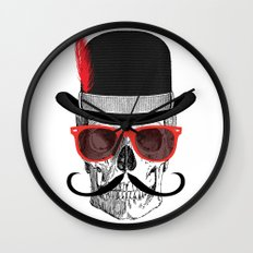 Cool Skull Wall Clock