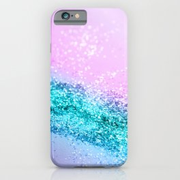Summer Unicorn Girls Glitter #1 #shiny #decor #art #society6 iPhone Case