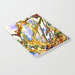 Opalesque Gemstones Abstract Notebook