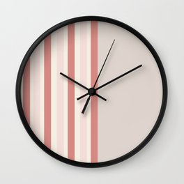 Minimal Abstract Cozy Cottage 03 Wall Clock