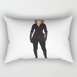 River Song: The Doctor's Wife Rectangular Pillow