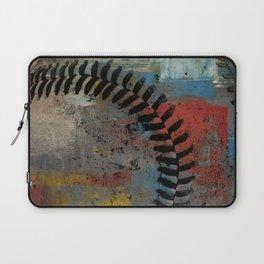 Painted Baseball Laptop Sleeve