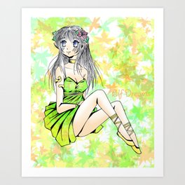 Elf Dream Art Print