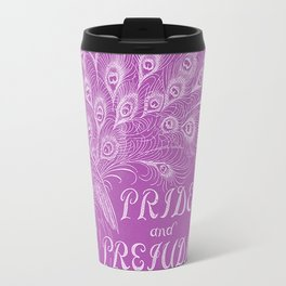 Pride and Prejudice - Plum Travel Mug