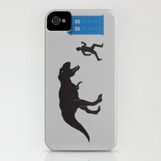 Time Travel is Dangerous Slim Case iPhone (4, 4s)