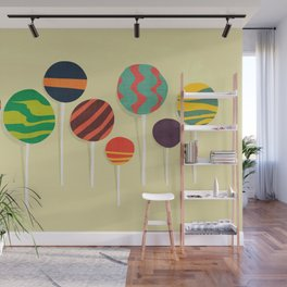Sweet lollipop Wall Mural