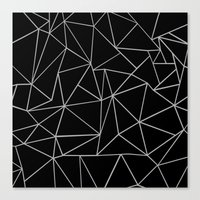 Canvas Prints featuring Fracture by Project M