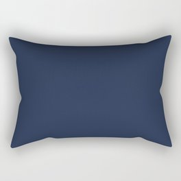 Yankees blue - solid color Rectangular Pillow