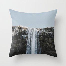 Seljalandsfoss / Iceland Throw Pillow