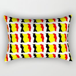 Flag of belgium 2-belgian,belge,belgique,bruxelles,Tintin,Simenon,Europe,Charleroi,Anvers,Maeterlinc Rectangular Pillow