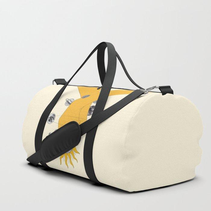 Everything Revolves Around Us Duffle Bag