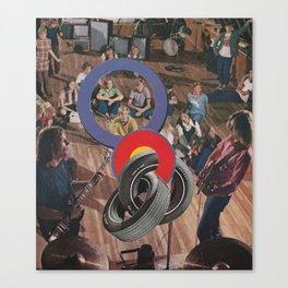 #100 Canvas Print