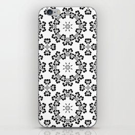 Flower ornament 19 iPhone Skin