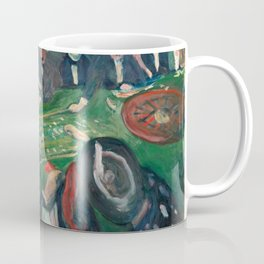 At the Roulette Table in Monte Carlo by Edvard Munch Coffee Mug