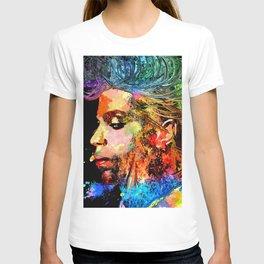 Prince Profile Grunge T-shirt