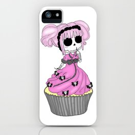 Morbid Cupcakes lolita iPhone Case
