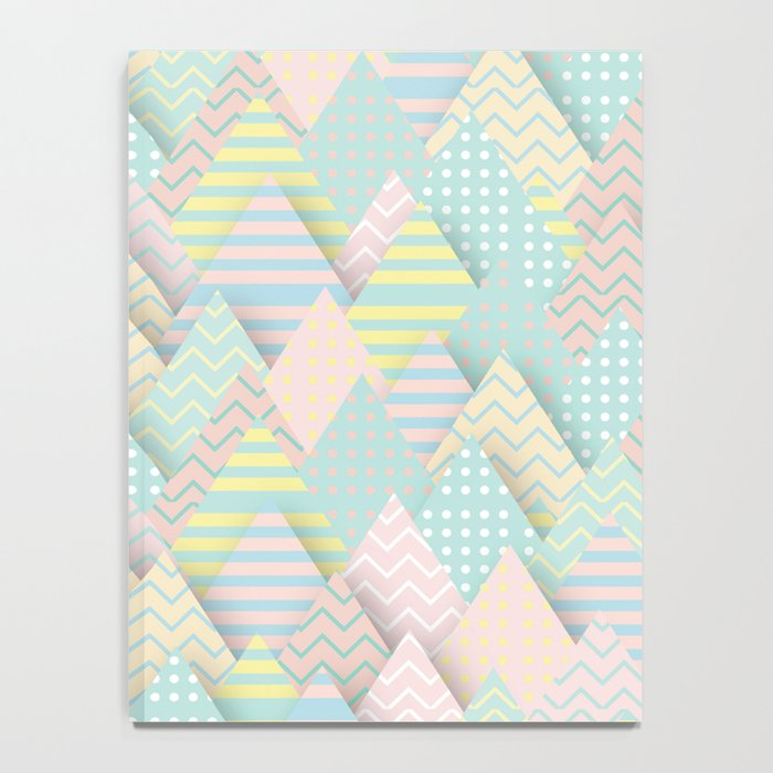 Forest Pastel Notebook