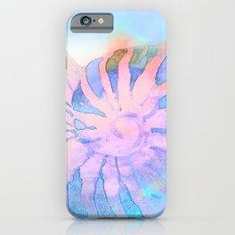 NAUTILUS CONCH SEA SHELL IMPRESSION iPhone Case