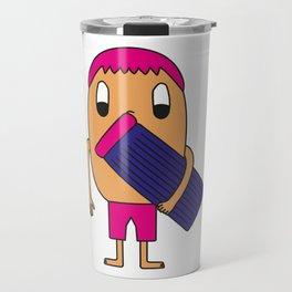 Egg Beach-Goer Travel Mug