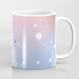 Rose Quartz and Serenity Background Coffee Mug