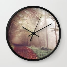 LOST IN THE PATH Wall Clock