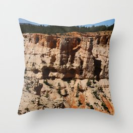 Mind Blowing Bryce Canyon View Throw Pillow