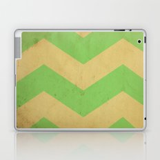 Seafoam Chevron Laptop & iPad Skin