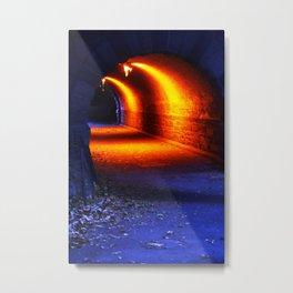 Tiempo azul. NY. Metal Print