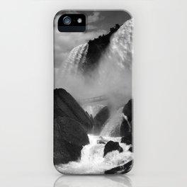 Cave Of The Winds - Niagara Falls - Circa 1888 iPhone Case